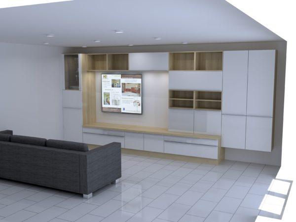 Projet 3D living – 1