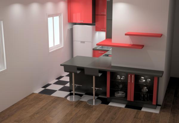 Projet 3D petite cuisines – 13