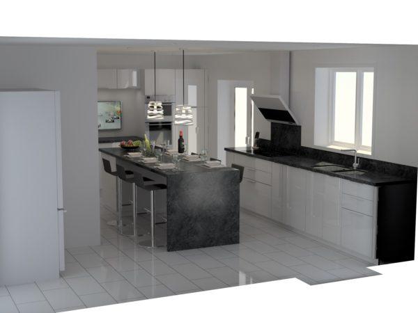 Vue 3D cuisines sur mesure – 17